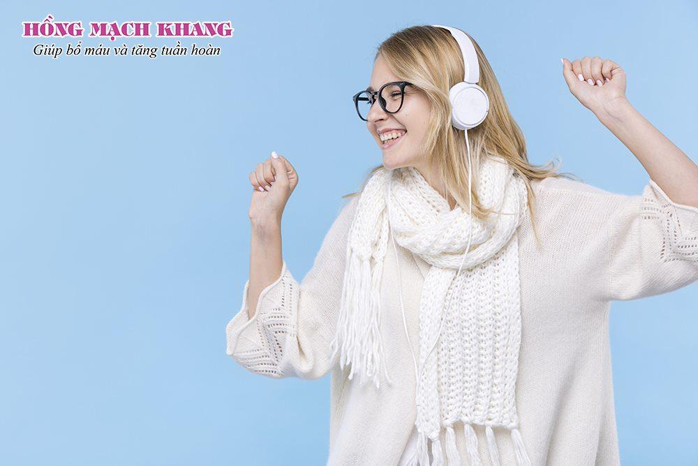 Nghe nhạc giúp tăng cường tuần hoàn máu não
